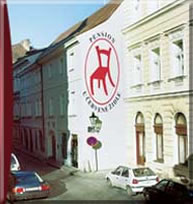 Cheap accommodation in Prague - Red Chair