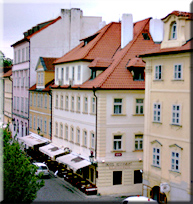Cheap accommodation in Prague - At the Golden Scissors