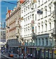 Cheap accommodation in Prague - Wenceslas Square