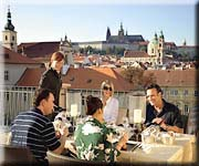 Mandarin Oriental Hotel 5 stars Prague - Presidetial Apartment: window view of Prague Castle